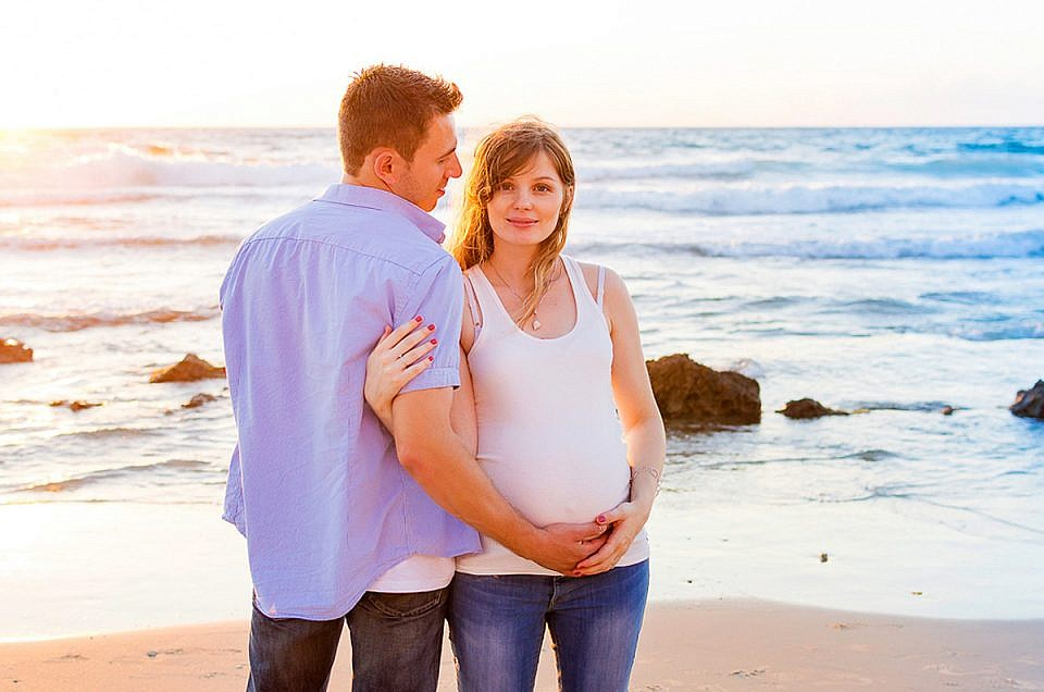 Lena + Boaz: Maternity Photography in Israel